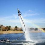 水の力で空を飛ぶ!フライボードは超気持ちいい【動画あり】