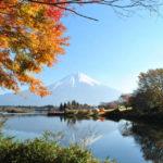 富士河口湖の紅葉2014見どころ案内!燃える紅葉に映える富士